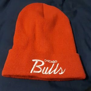 Chicago Bulls Winter Hat Mitchell and Ness